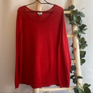 Old Navy Red Sweater XXL